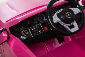 Interior decoche infantil rosa para niñas